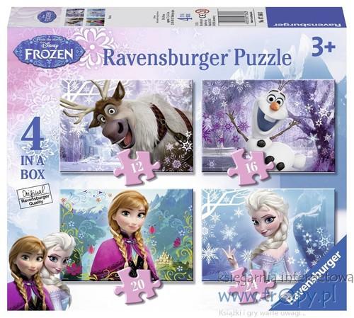 c3194647798e56 Puzzle Kraina Lodu 4 w 1 - Ravensburger - Księgarnia internetowa ...