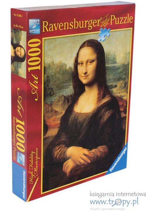 9a476837a3c6e8 Puzzle 1000 Da Vinci Mona Lisa - Ravensburger - Księgarnia ...