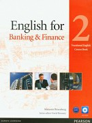English for banking and finance 2 vocational english course book with CD-ROM