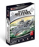 Puzzle 3D Aircraft Carrier Charles de Gaulle