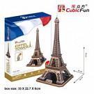 Puzzle 3D Eiffel Tower