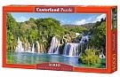 Puzzle Krka Waterfalls, Croatia 4000
