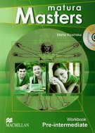 Matura Masters Pre-Intermediate workbook with CD