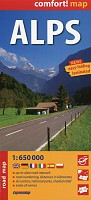 Alps road map 1:650 000