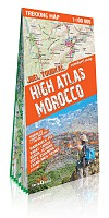 Maroko Atlas Wysoki (High Atlas Maroko) trekking map