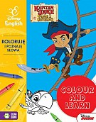 Colour and learn Jake Koloruję i poznaję słowa Disney English