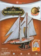 Puzzle 3D Two-Masted Schooner