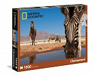 Puzzle National Geographic A Zebra drinks 1000