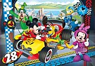 Puzzle Supercolor Mickey Roadster Race 104