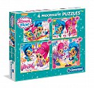 Puzzle Shimmer and Shine 4 w 1