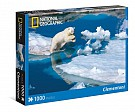 Puzzle National Geographic Polar Bear 1000