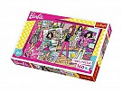 Puzzle Modna Barbie 160