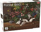 Flowers and Birds Puzzle 1000