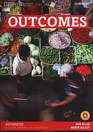 Outcomes Advanced Student's Book and Workbook + CD