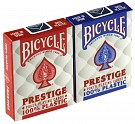 Karty Prestige (100% Plastik) (Bicycle)