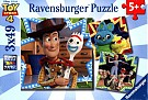 Puzzle 3x49 Toy Story 4