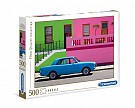 Puzzle 500 High Quality Collection The Blue Car