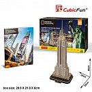 Puzzle 3D National Geographic Empire State Building