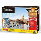 Puzzle 3D National Geographic London Tower Bridge