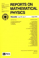 Reports On Mathematical Physics 86/1 - Polska