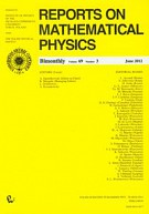 Reports on Mathematical Physics 69/3 /2012
