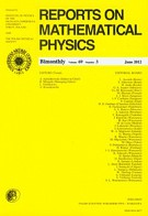 Reports on Mathematical Physics 69/3/2012