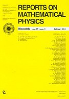 Reports on Mathematical Physics 69/1