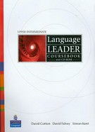 Language Leader Upper Intermediate course book and CD
