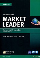 Market Leader 3Ed Pre-Intermed SB +DVD +MyEngL
