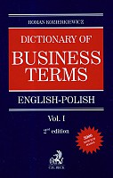 Dictionary of Business terms english-polish vol.1