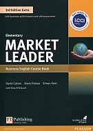 Market Leader Elementary Business English Course Book + DVD-ROM