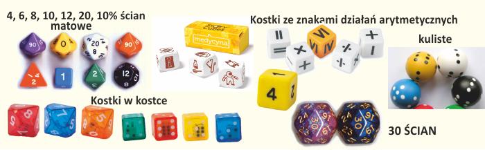 Kostki, kości, tropy.pl
